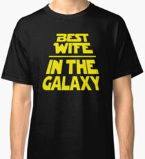 Best Wife in the Galaxy - Title Crawl Classic T-Shirt