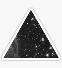 Pegatina Space in a Triangle