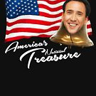 America's National Treasure - White Text by glucern
