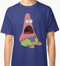 Surprised Patrick Star  Classic T-Shirt