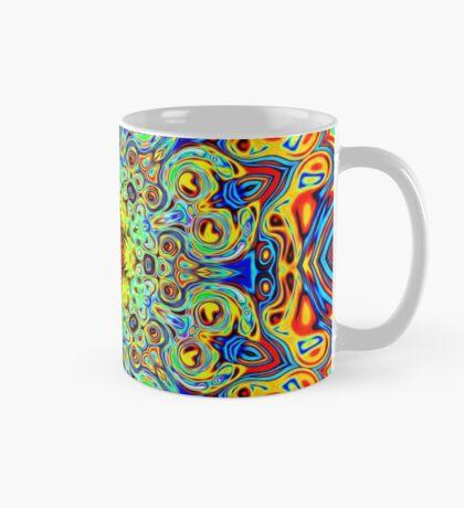 Psychedelic Melting Pot Mandala   Mug