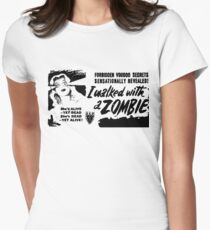 I Walked With A Zombie Women's Fitted T-Shirt