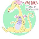 my face is none of your business by pagalini