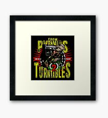 From Pyramids to Turntables Framed Print