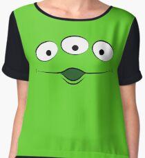 Toy Story Alien - Ohhhhh Women's Chiffon Top