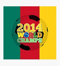 2014 World Champs Ball - Cameroon Photographic Print