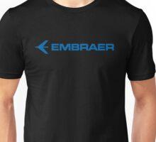EMBRAER JET PLANE AIRBUSH Unisex T-Shirt
