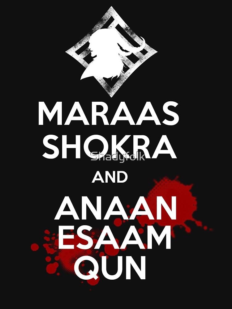 Behalte Ruhe - Maraas Shokra und Anaan Esaam Qun von Shadyfolk