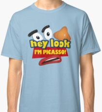 Hey Look I'm Picasso Toy Story Classic T-Shirt