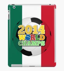 2014 World Champs Ball - Mexico iPad Case/Skin