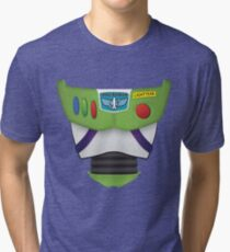 Buzz Lightyear Chest - Toy Story Tri-blend T-Shirt
