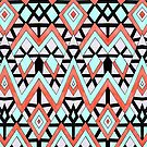Geometric Mountains by Pom Graphic Design