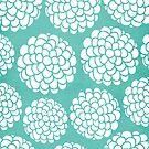 Minimal Hydrangeas Blossoms by Pom Graphic Design