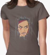 Heeeeeeeeeere's Mary! Women's Fitted T-Shirt