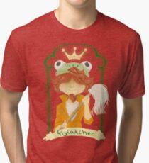 f48d2ef87 The Frog Prince Tri-blend T-Shirt