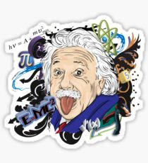 Einstein Sticker