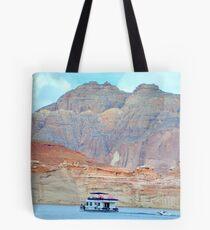 Lake Powell in Page, Arizona Tote Bag