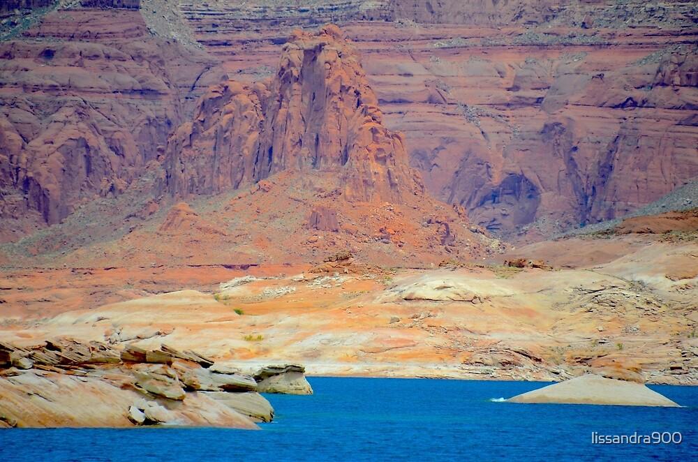 Lake Powell in Arizona, USA by lissandra900
