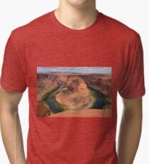Horseshoe Bend in Arizona Tri-blend T-Shirt