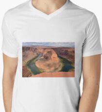 Horseshoe Bend in Arizona Men's V-Neck T-Shirt