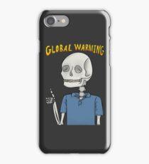 Global Warning Skeleton iPhone Case/Skin