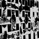 Abstract Series - Woven High Contrast B&W Bands by Buckwhite