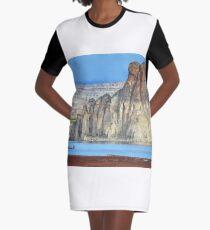 Lake Powell in Arizona, USA Graphic T-Shirt Dress