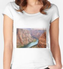 Horseshoe Bend  Women's Fitted Scoop T-Shirt