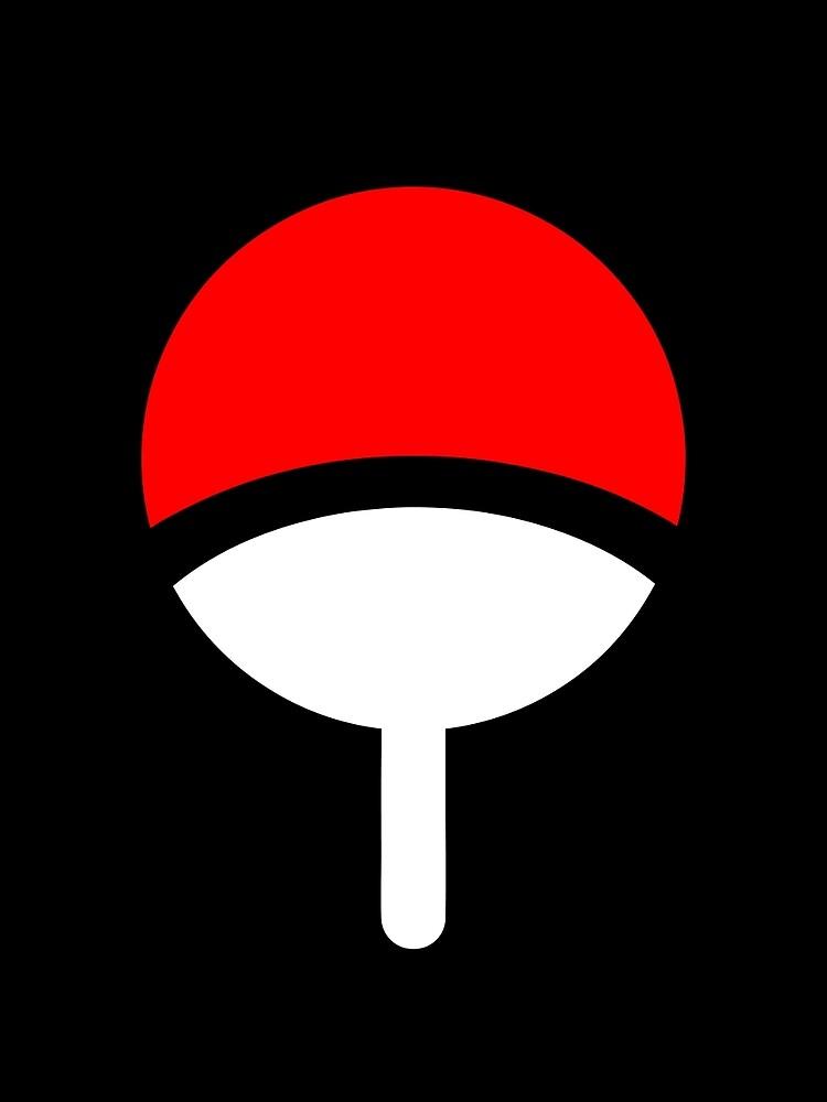 Uchiha Clan Symbol Graphic T Shirt By Suzukistore Redbubble