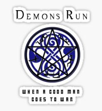 SuperWHO - Demons Run Sticker