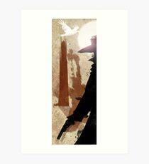 Tower Mirage Art Print