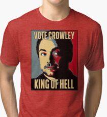 Camiseta de tejido mixto Votar Crowley - REY OF HELL