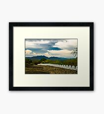 Exciting Clouds Framed Print