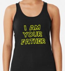 7ca718b302ffa1 I am your father Women s Tank Top