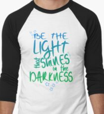 Be The Light Men's Baseball ¾ T-Shirt