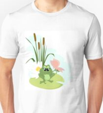 A cute cartoon Frog Unisex T-Shirt