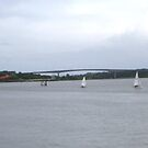 Waterworks on the River Foyle, Derry, Ireland by mikequigley
