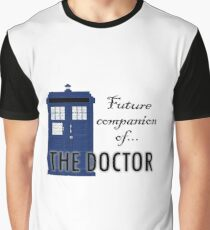 Future Companion of The Doctor Graphic T-Shirt