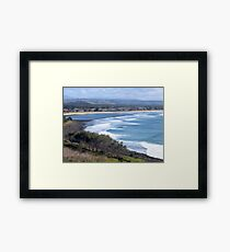 View from Lennox Head Framed Print