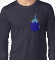 Mudkip in my Pocket Long Sleeve T-Shirt