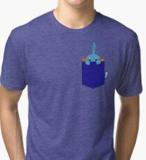 Mudkip in my Pocket Tri-blend T-Shirt
