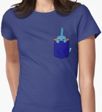 Mudkip in my Pocket Women's Fitted T-Shirt
