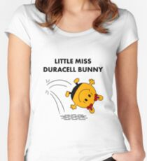 Miss Duracell Bunny Women's Fitted Scoop T-Shirt