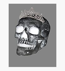 Dark Skull Princess Photographic Print