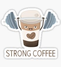 Strong Coffee Sticker