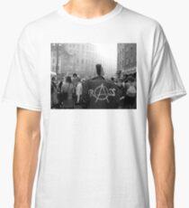 Photograph Berlin Punk wearing Crass jacket Classic T-Shirt