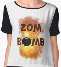 Zombomb Women's Chiffon Top