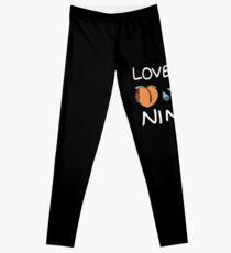 Love Me Ninja Leggings