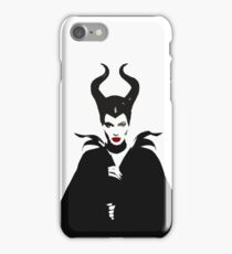 MALEFICENT iPhone Case (White) iPhone Case/Skin