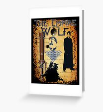 EMPIRE OF THE WOLF  Greeting Card